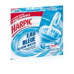 HARPIC BLOC CUVETTE EAU BLEUE 2X38GR