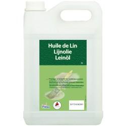 HUILE DE LIN 5L CLARIFIEE