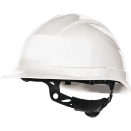 CASQUE CHANTIER ROTOR QUARTZ UP III BLANC