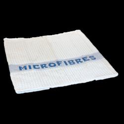SERPILLIERE GAUFREE MICROFIBRE BLANCHE 50X60