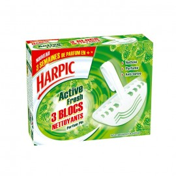 BLOC WC 3X30G HARPIC LAVANDE
