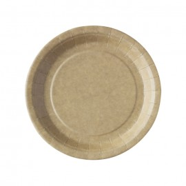 ASSIETTES KRAFT BIODEGRADABLES D23 X50