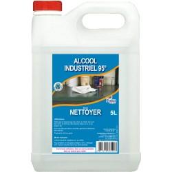 ALCOOL INDUSTRIEL 95° 5L ETHANOL