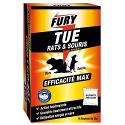 FURY TUE RATS SOURIS 6 X 25GR